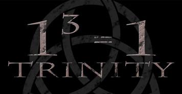Trinity Cubed Vinyl Bumper Sticker