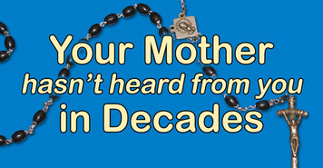 Rosary Decades Vinyl Bumper Sticker