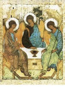 Holy Trinity Angels Print