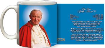 Pope John Paul II Sainthood Official Portrait Prayer Mug