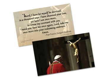Pope Francis' Daily Prayer of Turning To Christ