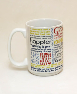 Saint Mother Teresa Quote Mug