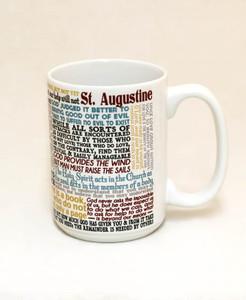 Saint Augustine Quote Mug