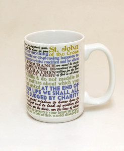 Saint John of the Cross Quote Mug