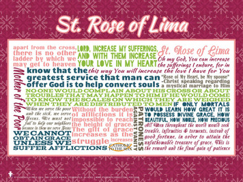 Saint Rose of Lima Quote Poster
