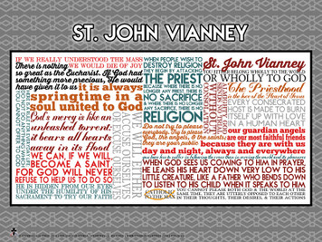 Saint John Vianney Quote Poster