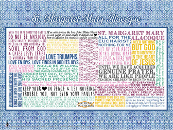 Saint Margaret Mary Alacoque Quote Poster