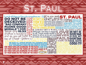 Saint Paul Quote Poster