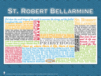 Saint Robert Bellarmine Quote Poster