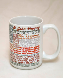 Saint John Vianney Quote Mug