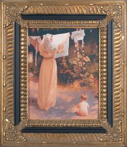 Polish Madonna Canvas - Ornate Museum Framed Art
