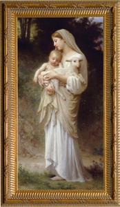 L'Innocence - Ornate Gold Framed Art