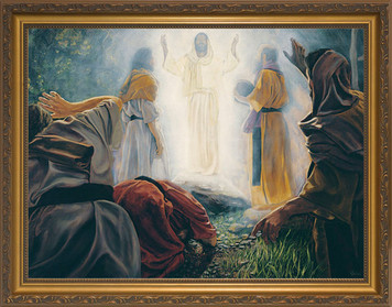 Transfiguration by Jason Jenicke - Standard Gold Framed Art