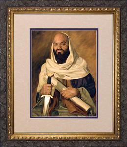 St. Paul by Jason Jenicke Matted - Ornate Dark Framed Art