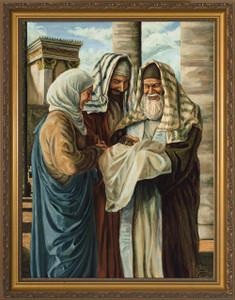 Presentation in the Temple by Jason Jenicke - Standard Gold Framed Art