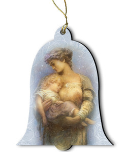 O Holy Night Wood Ornament