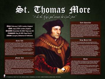 Saint Thomas More Explained Poster
