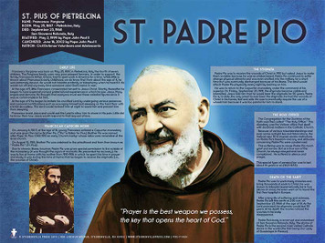 Saint Padre Pio Explained Poster