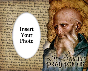 St. Benedict Photo Frame
