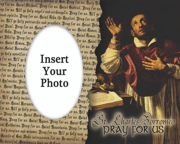 St. Charles Borromeo Photo Frame