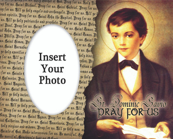 St. Dominic Savio Photo Frame