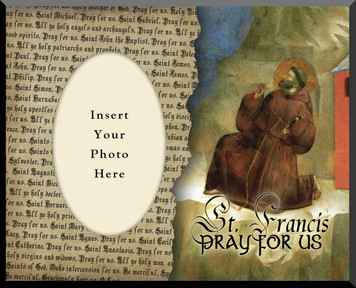 St. Francis of Assisi Picture Frame 3