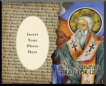 St. Ignatius of Antioch Photo Frame