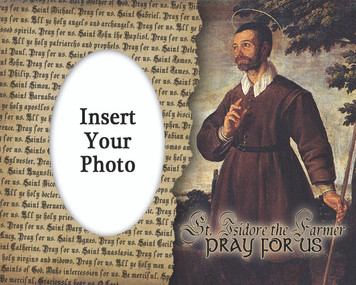 St. Isidore the Farmer Photo Frame