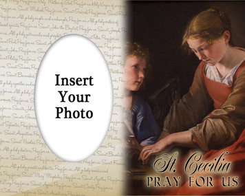 St. Cecilia Photo Frame 2