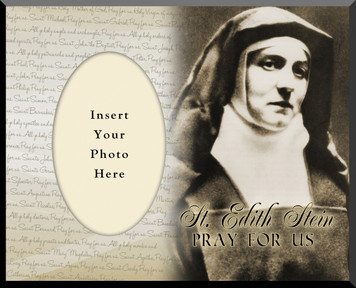 St. Edith Stein Photo Frame