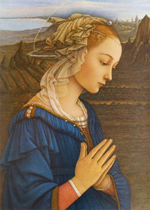 Virgin by Lippi Print