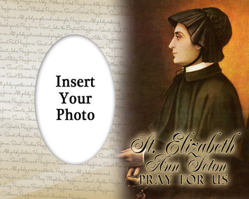 St. Elizabeth Ann Seton Photo Frame