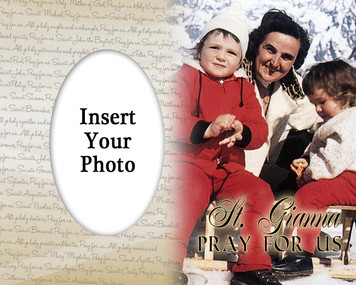St. Gianna Photo Frame 2