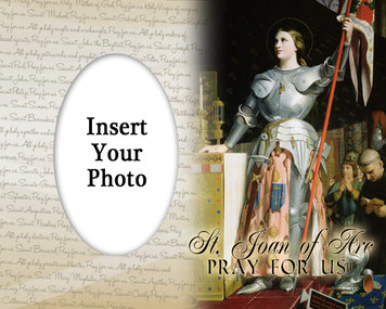 St. Joan of Arc Photo Frame