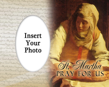 St. Martha Photo Frame