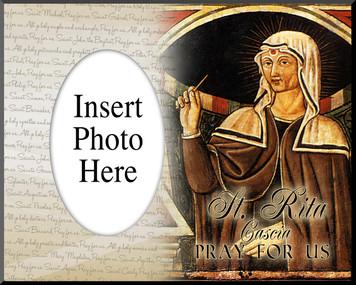 St. Rita Cascia Photo Frame