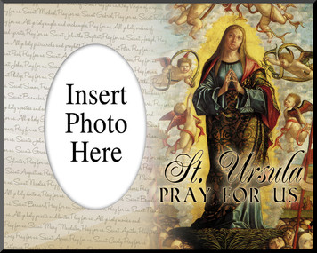 St. Ursula Photo Frame