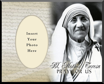 Bl. Mother Teresa Photo Frame