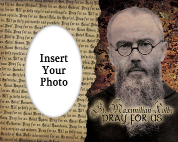 St. Maximilain Kolbe Photo Frame