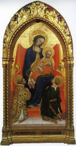 Madonna and Child by Fabriano print
