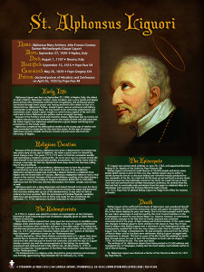 Saint Alphonsus Ligouri Explained Poster
