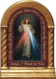 Divine Mercy Prayer Desk Shrine