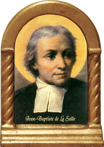 St. Jean Baptiste de La Salle Desk Shrine