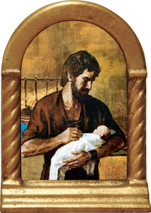 St. Joseph Fatherhood Desk Shrine