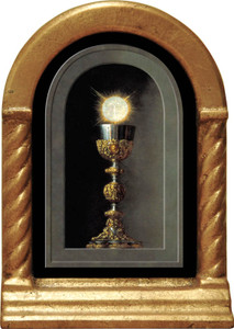 Eucharist Detail Desk Shrine