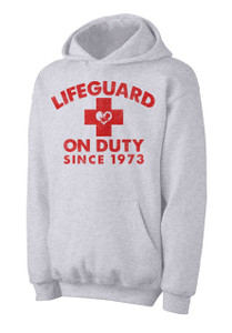 Lifeguard on Duty Since 1973 Hoodie