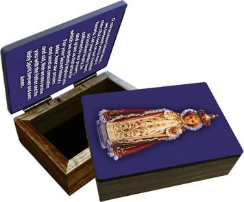 Infant of Prague Keepsake Box