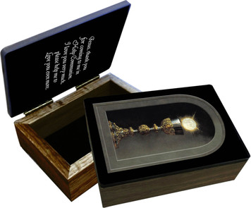 Eucharist (Detail) Keepsake Box