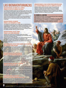 Spanish The Beatitudes Explained Poster