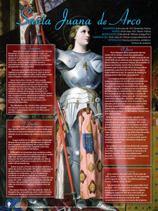 Spanish Saint Joan of Arc Explained Poster